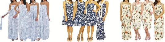 アロハアウトレット~ブライズメイドに人気のムームドレス