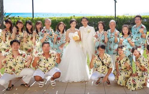 ハワイ挙式のブライズメイド・ムームー
