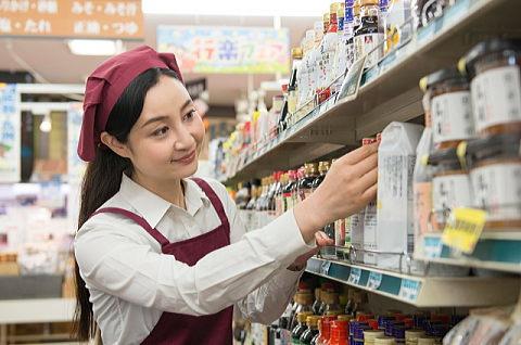 スーパーの店員さんに調味料売場を探してもらったのですが・・・