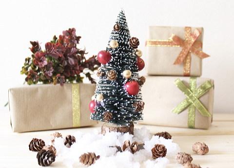 今年は小さい卓上クリスマスツリーも飾る予定