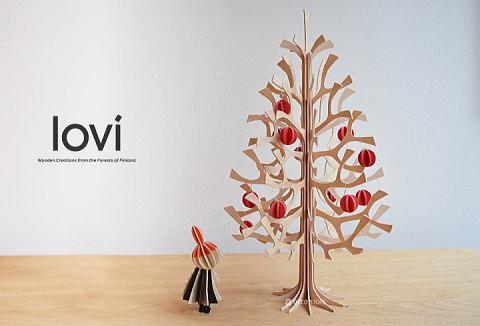 Lovi(ロヴィ) クリスマスツリー Momi-no-ki 25cm