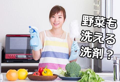 野菜も洗える万能エコ洗剤を発見!