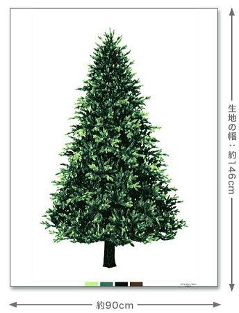クリスマスタペストリーウッド柄オックス(藤久オリジナル)(シュゲール楽天店)