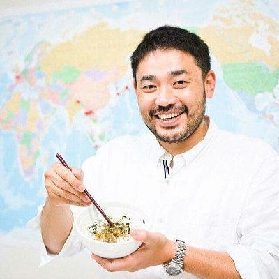 国際ふりかけ協議会代表の松江慎太郎さん
