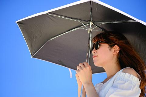 日傘の裏の色は黒が日焼け防止対策の常識?