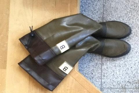 日本野鳥の会の長靴(人気色ブラウン)を購入!サイズもピッタリで大満足♪
